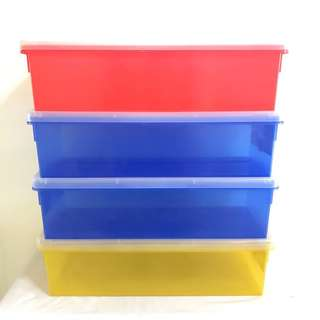 Comics container hold up to around 30 pcs