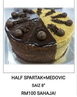Spartak+Medovic Russian Cake