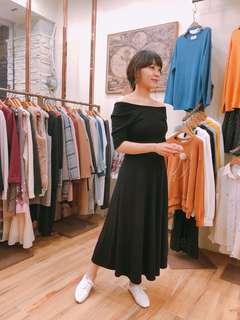 🚚 全新正韓顯瘦黑洋裝