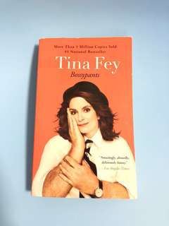 Moving out sale: Bossypants by Tina Fey