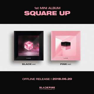 BLACKPINK - SQUARE UP (1st MINI ALBUM)