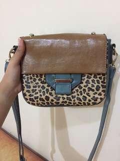 Green Leopard Local Bag