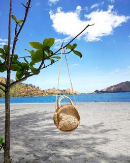 "10"" Abaca Sling Bag (End of Summer Sale!!!)"