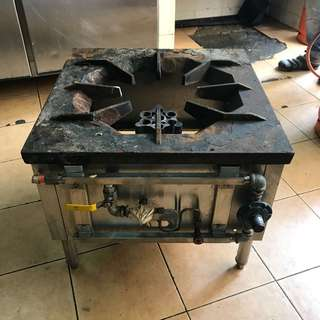 High pressure cooker stove