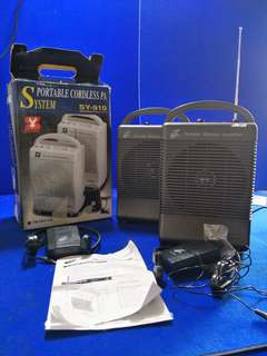 Sanying SY-910 Portable Wireless Amplifier (1 Pc) @$70 Each @A2/2