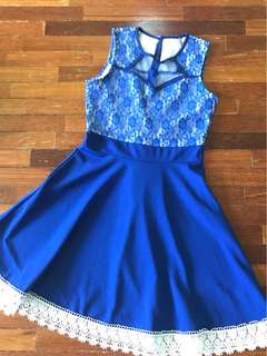 Blue lace S to M