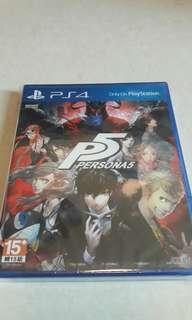 PS4 全新 行貨日文版 女神異聞錄 5 PERSONA 5