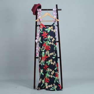 Side Boob Maxi Dress