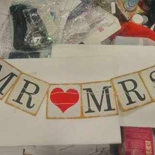 Mr 💗 Mrs 紙牌