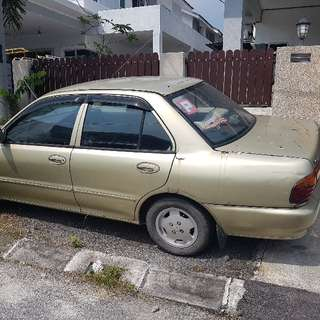wira reg 1994.can still be driven.location tapah