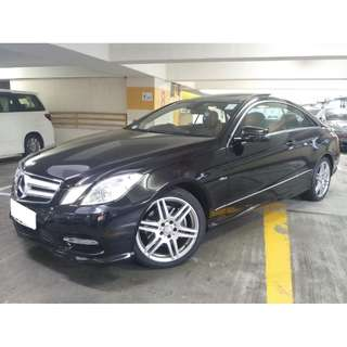 MERCEDES-BENZ E250 COUPE AMG 2012