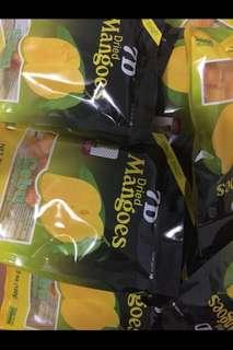 7D  Cebu dried mango 菲律賓芒果乾