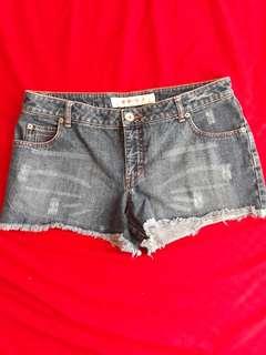 Mossimo Denim Shorts (M-L)