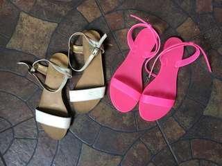 Flat sandals (bundle)