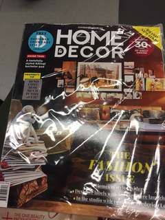The Singapore Women's weekly June 2018 and Home decor june 2018