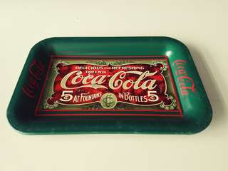 Coca-Cola collectible mini trays ($10 each)