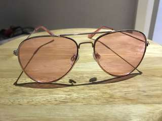Pink glasses by hm