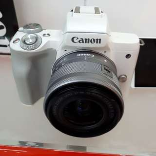 Kamera Canon Eos M50 New Mirorless (Kredit TANPA CC)