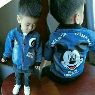 Sale -  Jaket Pekabo Denim Kid