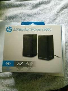 Hp 2.0 speaker system s5000