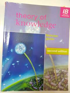 International Baccalaureate Diploma Guidebook: Theory of Knowledge