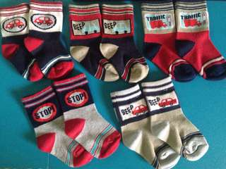 Toddler's socks (5 pairs)