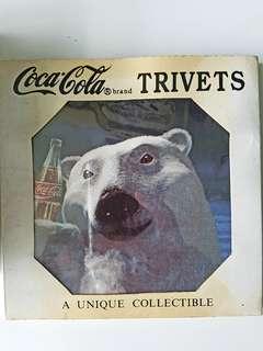 Coca-Cola collectible tiles ($10 each)