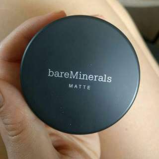Bare Minerals Matte Mineral Powder Foundation Medium Beige N20 Spf 15 BareMinerals