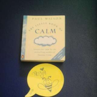 Book: the little book of Calm.