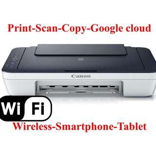 [BNEW] WI-FI All in One Printer CANON MG2922 with ciss