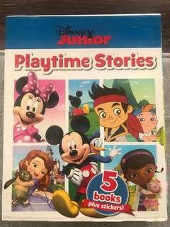 Disney junior playtime stories 5-in-1 boxset