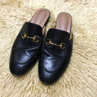 🚚 Gucci 風格 懶人鞋 拖鞋 Slip on 25cm 適合穿39 US8