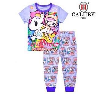 Caluby Tokidoki Donutella Unicorn Pyjamas Set 3Yrs Old