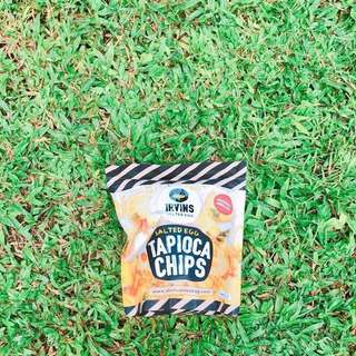 Irvins Salted Egg Tapioca Chips 鹹蛋木薯片