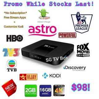 🚚 Latest and Cheapest 2GB RAM 16GB ROM Nougat TX3 Mini Android Box ( world cup 2018 live / IPTV / ASTRO / Malaysia Channels / TV3 / Malay / TVB / MYIPTV / MoonTV / RIA / worldwide channels)