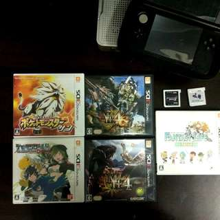 Nintendo 3DS games (Japanese Ver.)