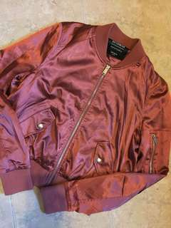 Cotton on Red Bomber Jacket