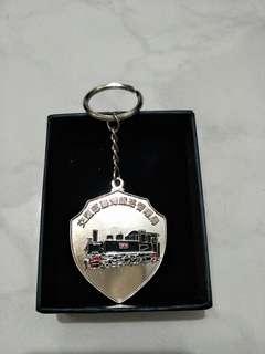 🚚 LDK50型蒸氣火車紀念鑰匙圈,全新