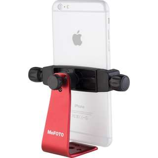 MeFOTO SideKick360 Plus Table Tripod Smartphone holder Adapter Red