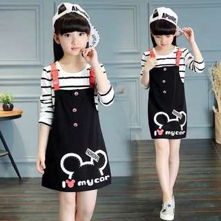 KIDS JUMPERDRESS SET