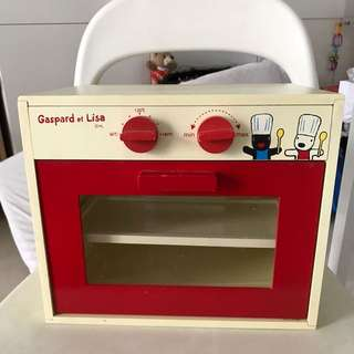 Gaspard et Lisa Oven Kitchen Toy Box