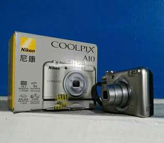 Jual camera nikon coolpix A10