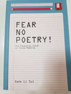 Fear No Poetry