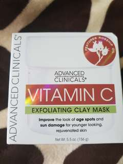 BNIB Vit C exfoliating mask