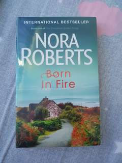 [NEW]Born In Fire by Nora Robert English Novel
