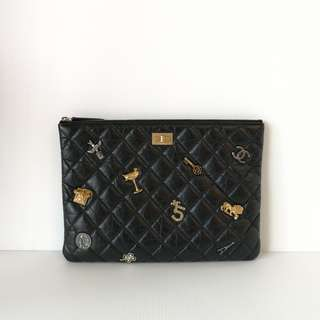 Authentic Chanel O Case Lucky charm