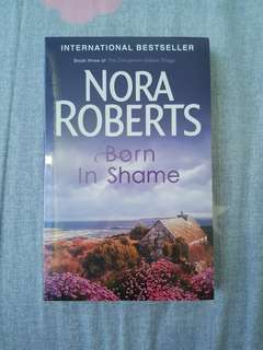 [NEW] Born in Shame by Nora Roberts English Novel