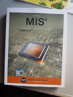 MIS8 MANAGEMENT INFORMATION SYSTEMS (BUSIENSS COMPUTING)