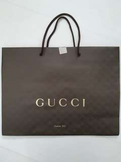 GUCCI Shopping Paper Bag
