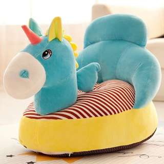 Blue Unicorn Sofa